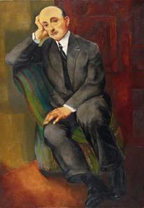 Moise Kisling- ritratto di uomo
