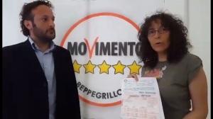 Amelia Milardi e Andrea Liberati